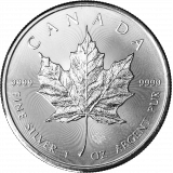 Kanada 2014 5 Dollars Maple Leaf 1 Unssi HOPEA