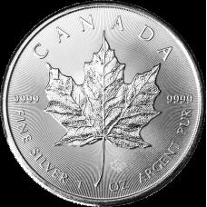 Kanada 2014 5 Dollars Maple Leaf 1 Unssi HOPEA