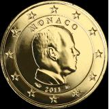 Monaco 2011 2 € KULLATTU