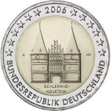 Saksa 2006 2 € Holstentor A UNC