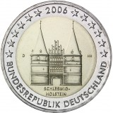 Saksa 2006 2 € Holstentor D UNC