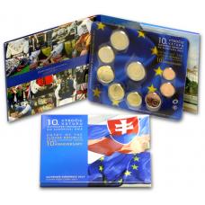 Slovakia 2014 Rahasarja EU:n jäsen 10v BU