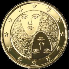 Suomi 2006 2 € Äänioikeuden 100-vuotisjuhlat KULLATTU