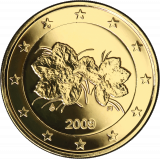 Suomi 2009 2 € KULLATTU