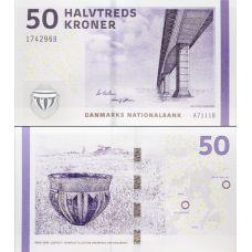Tanska 2011 50 Kroner P65d UNC