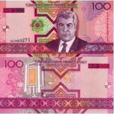 Turkmenistan 2005 100 Manat P18 UNC