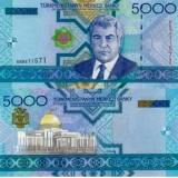 Turkmenistan 2005 5000 Manat P21 UNC
