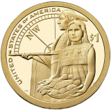 "USA 2014 $1 Sacagawea Native American ""D"" UNC"