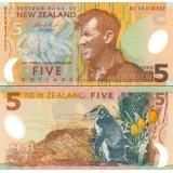 Uusi-Seelanti 2006 5 Dollar P185b UNC