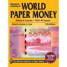 World Paper Money 1961-Present 19th Edition Luettelo