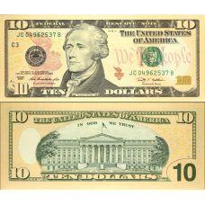 Yhdysvallat 2009 $10 P532 UNC