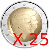 Alankomaat 2014 2 € Kaksoismuotokuva UNC 25 kpl