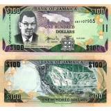 Jamaika 2007 100 Dollars P84e UNC