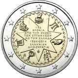 Kreikka 2014 2 € Jooniansaaret UNC