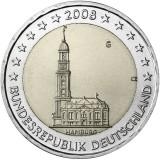 Saksa 2008 2 € Hampuri G UNC