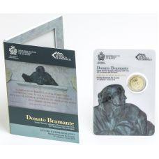 San Marino 2014 2 € 500 vuotta Donato Bramanten kuolemasta UNC