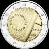 Suomi 2014 2 € Ilmari Tapiovaara UNC