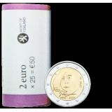 Suomi 2014 2 € Tove Jansson RULLA