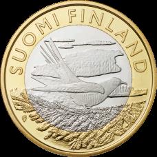 Suomi 2014 5 € Maakuntien eläimet Karjala UNC