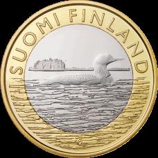 Suomi 2014 5 € Maakuntien eläimet Savo UNC