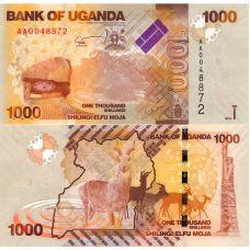 Uganda 2010 1000 Shilling P49a UNC