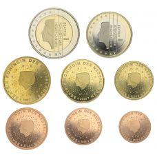 Alankomaat 2003 1 c - 2 € Irtokolikot BU