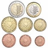 Alankomaat 2005 1 c - 2 € Irtokolikot BU