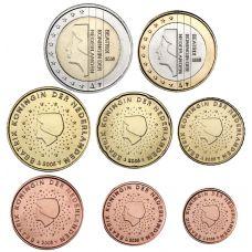 Alankomaat 2000 1 c - 2 € Irtokolikot UNC