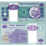 Angola 1999 5 Kwanzas P144 UNC