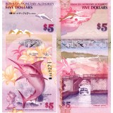 Bermuda 2009 5 Dollars P58a UNC