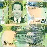 Botswana 2009 10 Pula P30a UNC