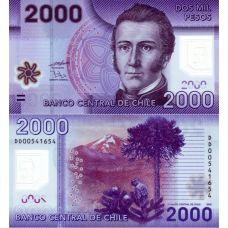 Chile 2009 2000 Pesos P162 UNC