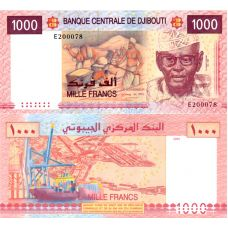 Djibouti 2005 1000 Frangia P42a UNC