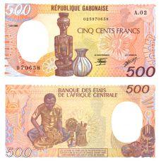 Gabon 1985 500 Frangia P8 UNC