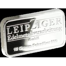 Hopealaatta 10 grammaa Leipziger 999 HOPEA