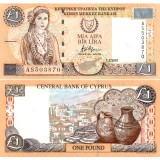 Kypros 2001 1 Pound P60c UNC
