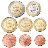 Liettua 2015 1 c – 2 € Irtokolikot UNC
