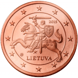 Liettua 2015 2 c UNC
