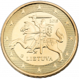 Liettua 2015 50 c UNC