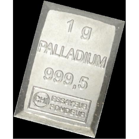 Palladium 1 gramma Valcambi SA 999,5 PALLADIUM