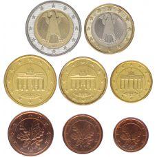 Saksa 2003 1 c - 2 € Irtokolikot G BU