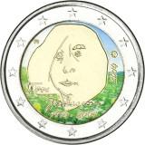 Suomi 2014 2 € Tove Jansson VÄRITETTY