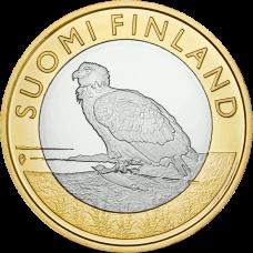 Suomi 2014 5 € Maakuntien eläimet Ahvenanmaa UNC