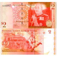 Tonga 2009 2 Pa'anga P38a UNC