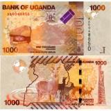 Uganda 2010 1000 Shilling P49 UNC