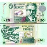 Uruguay 2011 20 Pesos P86b UNC