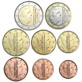 Alankomaat 2016 1 c – 2 € Irtokolikot UNC