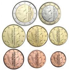 Alankomaat 2014 1 c – 2 € Irtokolikot UNC