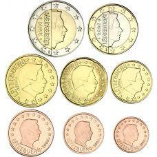 Luxemburg 2006 1 c – 2 € Irtokolikot UNC