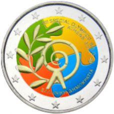 Kreikka 2011 2 € Special Olympics #2 VÄRITETTY